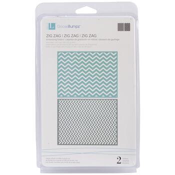 We R Memory Keepers Goosebumpz A2 Embossing Folders Zigzag