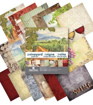 """At the Vineyard 6"""" Paper Pad  6 x 6 Paper pad"""