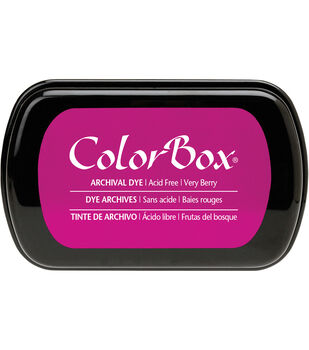 ColorBox Archival Dye Full Size Inkpad-Very Berry