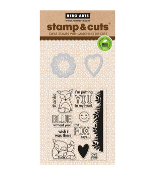 Hero Arts The Fox Says Stamp & Cuts