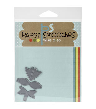 Paper Smooches Baby Bow Dies