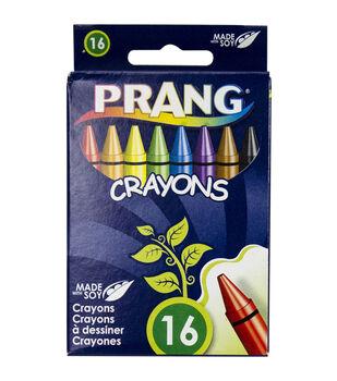 Prang Crayons Hang Tab Box 16 pcs