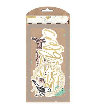 Crate Paper Maggie Holmes Confetti Ephemera Acetate & Vellum Die-Cuts