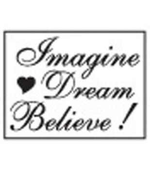 Decorative Resin Seal W/Wax Stick-Imagine, Dream