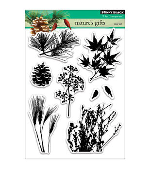 Penny Black Nature's Gift Clear Stamps