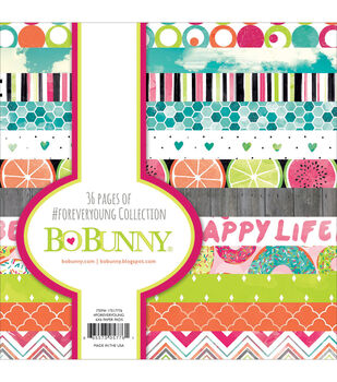 Bo-Bunny #Forever Young Paper Pad