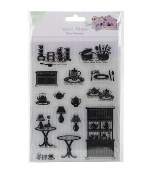 Joy! Crafts Love Home Clear Stamps