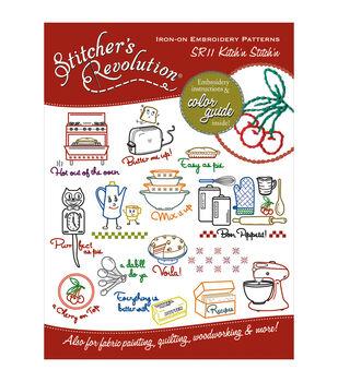 Stitcher's Revolution Iron-On Transfers-Kitchen Inspirations