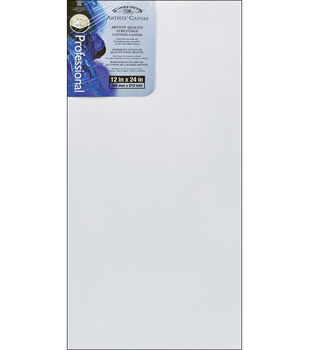 """Winsor & Newton Stretched Canvas 12""""x24"""""""