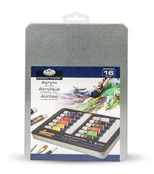 Acrylic Paint Art Kit With Tin 8-1/2''x6''
