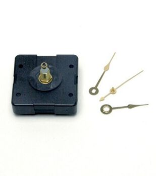 Walnut Hollow Clock Movement With Hands 3/8''