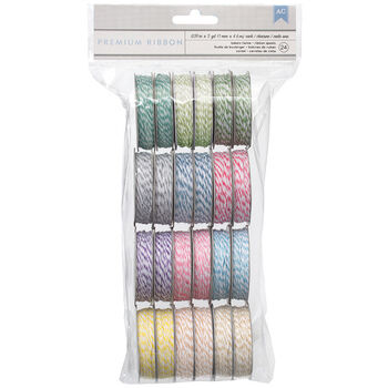 American Crafts Value Pack Baker's Twine Pastel Colors