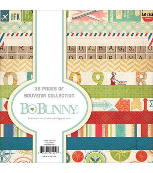 "Bo-Bunny Paper Pad 6""X6"" 36/Pkg-Souvenir"