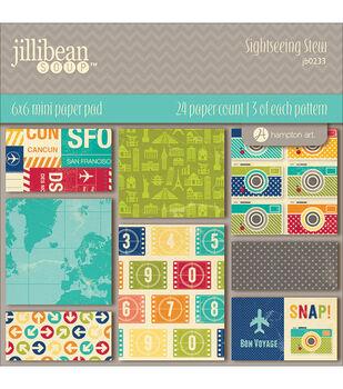 Jillibean Soup 6X6 - Sightseeing Paper Pad