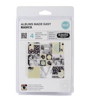 We R Memory keepers Albums Made Easy Basics Dies