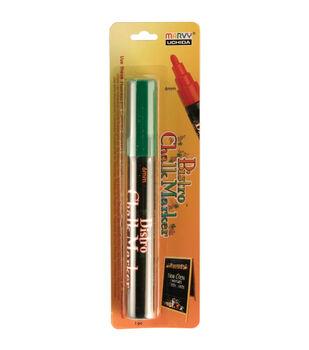 Bistro Chalk Marker 6mm Bullet Tip 1/Pkg-White