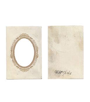 7 Gypsies Vintage Frame Cover Oval