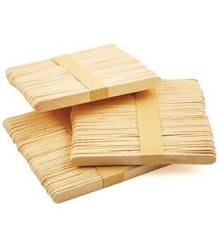"Craft Popsicle Sticks-4.5"" 100/Pkg"