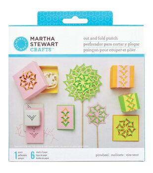 Martha Stewart Cut & Fold Punch-Pinwheel