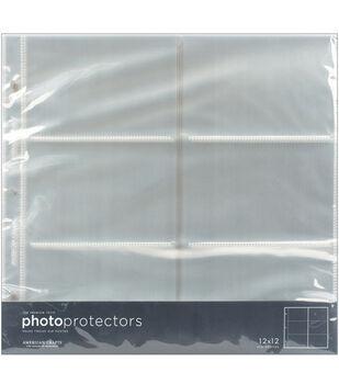 American Crafts 12''x12'' Photo Protector Pockets-10PK