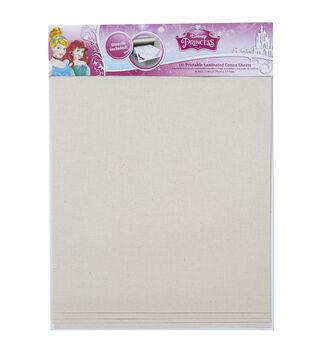 Disney Laminated Cotton Sheet Princess