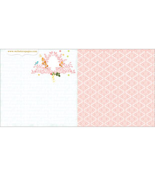 Webster's Pages Party Time! Treasured Moments Double-Sided Cardstock