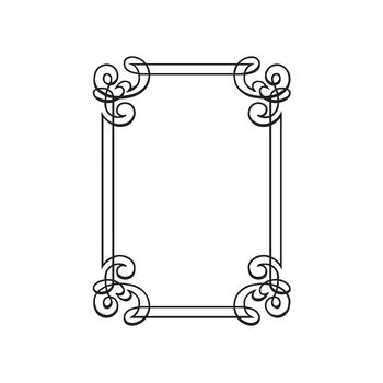 Darice® Embossing Folder - Ornate Border, 4-1/2 x 5-3/4 inches