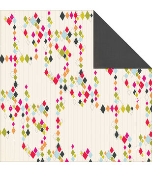 """Me.ology Double-Sided Cardstock 12""""X12""""-Diamond"""