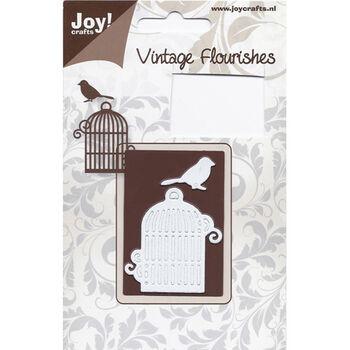 Joy! Crafts Cutting Die Bird Cage