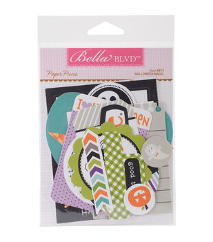 Bella Blvd Halloween Magic Paper Cardstock Die-Cuts