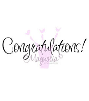 "Graduate & Student Cling Stamp 5.5""X2.5"" Package-Congratulations!"