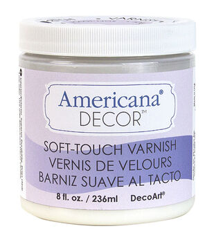Decoart Clear - Soft Touch Varnish 8oz