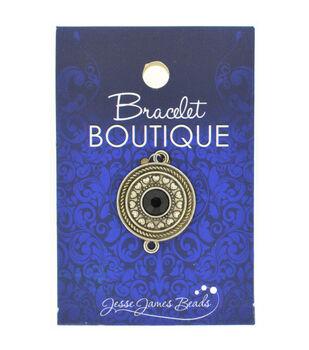 Bracelet Boutique Focal Bead Circle With Black Center