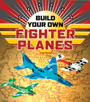 Sterling Publishing Build Your Own Fighter Planes-48 pages