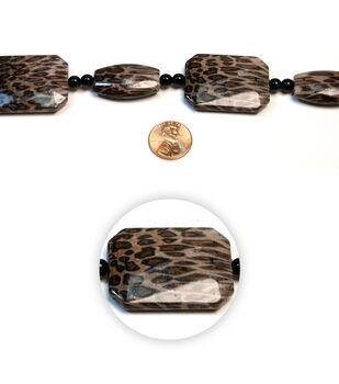 Rectangle/Obelisk Acrylic Beads