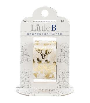 Little B Foil Tape 25mmX10m-Gold Toile