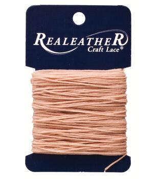 Silver Creek Waxed Thread 25 Yards-Tan