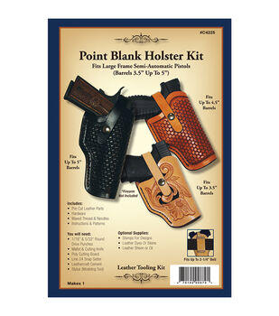 Realeather Crafts- Point Blank Holster Kit-Point Blank Holster