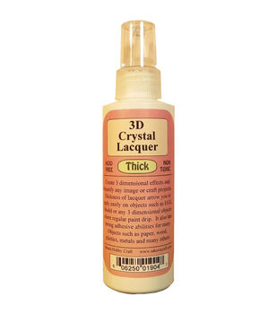 Sakura Hobby Craft 3D Crystal Lacquer Thick 4 oz