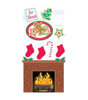 Sandylion Dimensional Stickers-Cookies For Santa