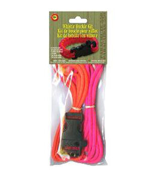 Whistle Buckle Kit Pink/Orange