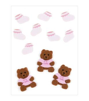 BABY GIRL BEAR AND BOOTIES