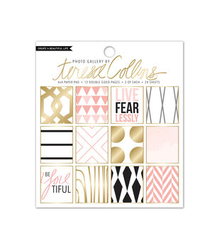 Teresa Collins Photo Gallery 4x4 Paper Pad Blush