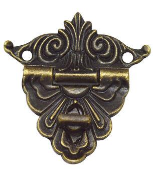 Brass embellishments 10/Pkg-Regal Catch