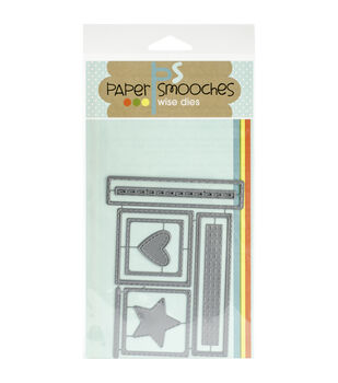 Paper Smooches Stitched Frames Dies