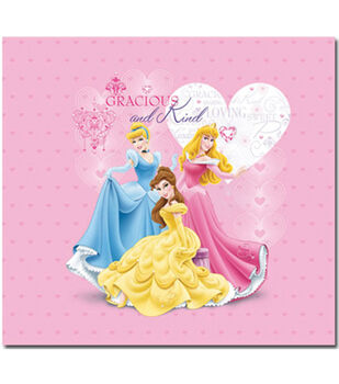 "Princess Glitter & Embossed  Album 12""X12""-Princess"