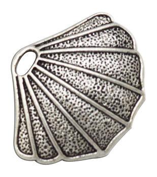 Silver embellishments 20/Pkg-Shell
