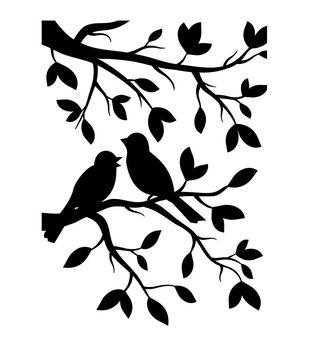 Darice Birds Branch Embossing Folder