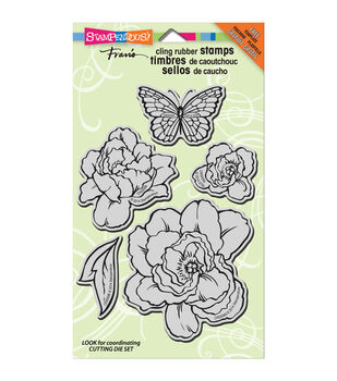 Stampendous Lovely Garden - Cling Rubber Stamp