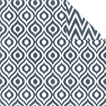 Echo Park Paper Company 5th Avenue Double-Sided Cardstock Paper Ikat